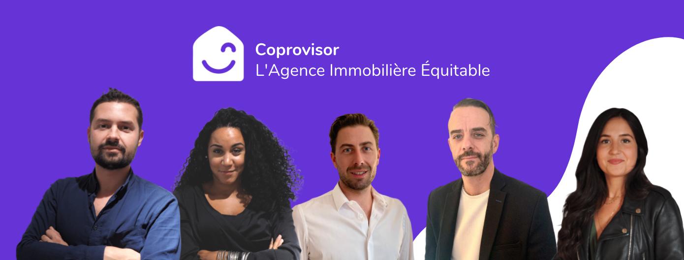 Notre équipe d'experts immobiliers - Coprovisor
